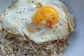 eggs and rice
