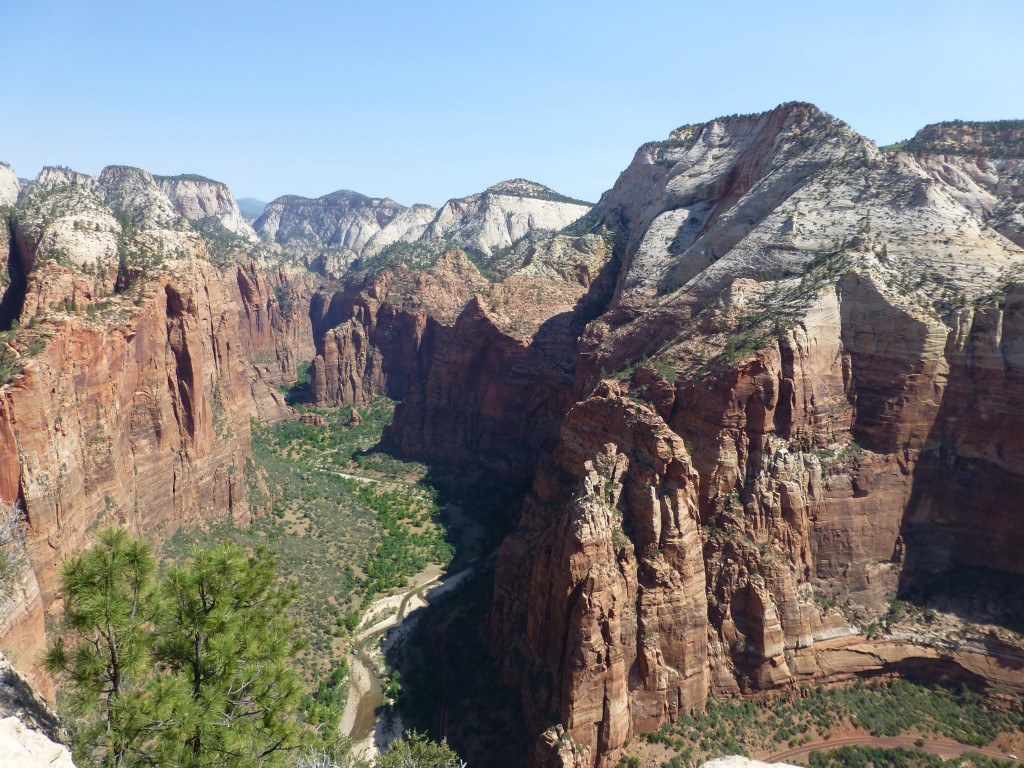 Zion National Park, view from Angels Landing Trail