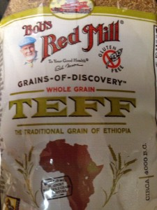 Teff, the smallest grain in the world
