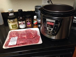 Skirt Steak and seasoning
