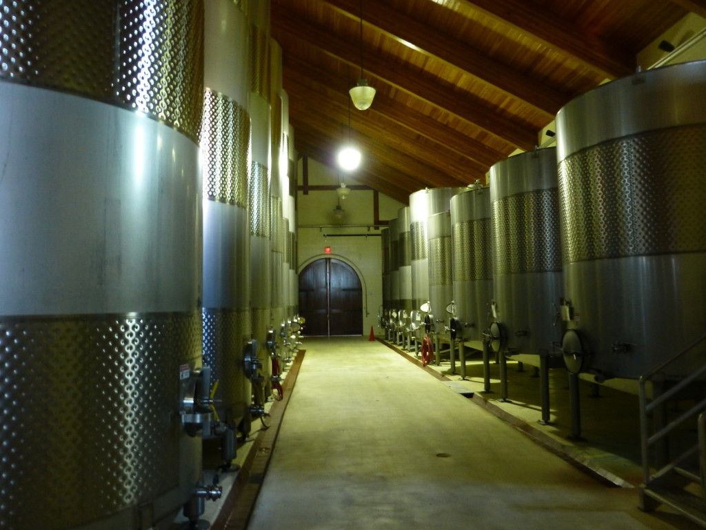 King Estate Wine Making
