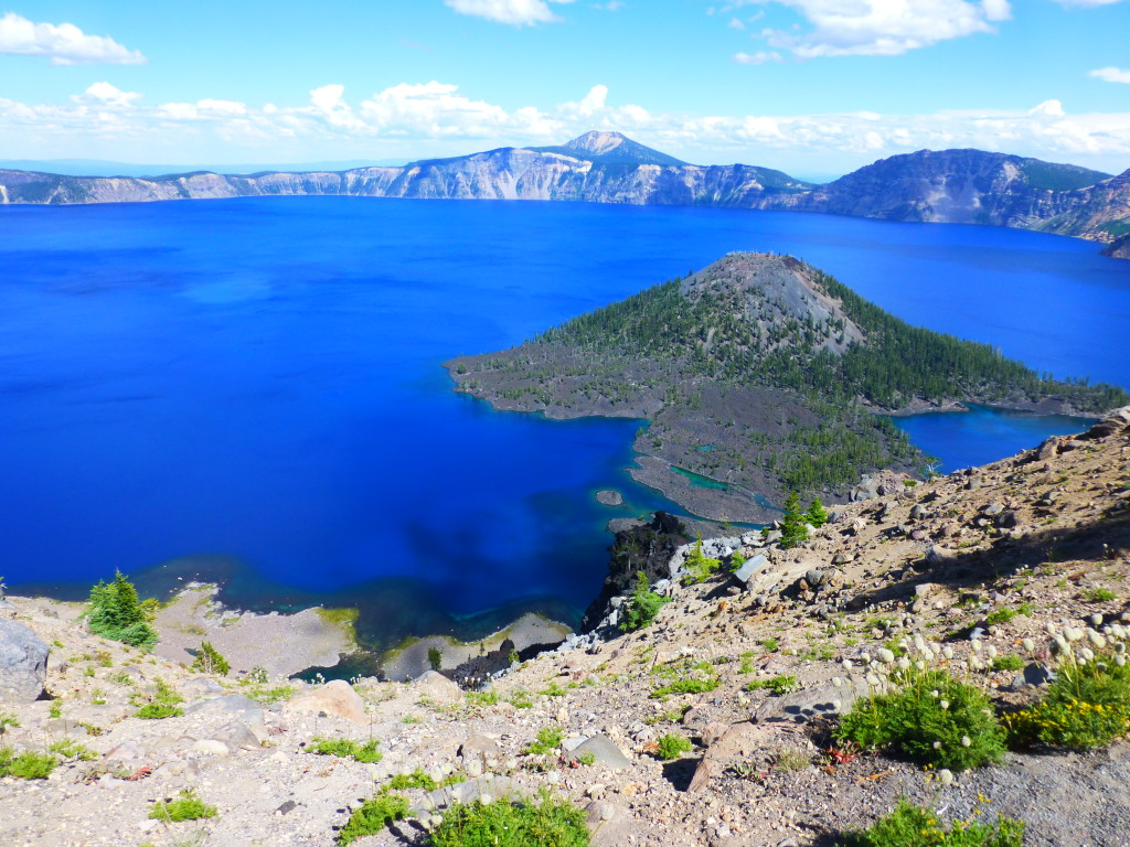 Crater Lake from The Watchman turnout